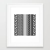 motorbike Framed Art Prints featuring Motorbike by Helene Michau