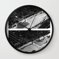 YOU LIVE YOU LEARN Wall Clock