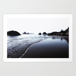 This is why at Moonstone Beach Trinidad California Art Print