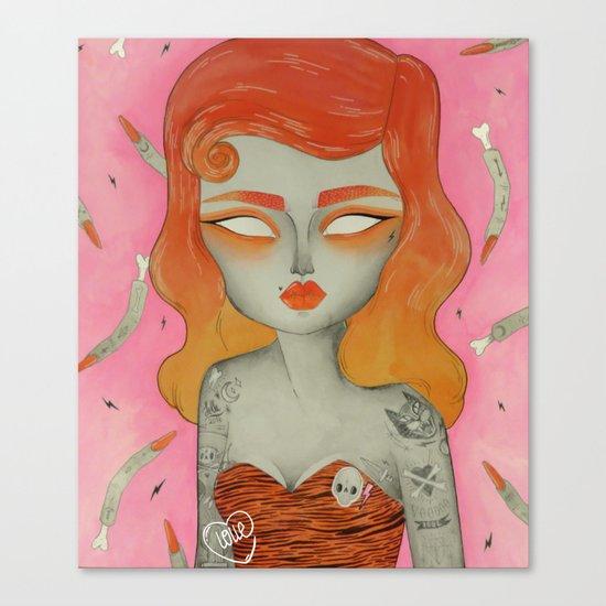 ORANGE ϟ VOODOO Canvas Print