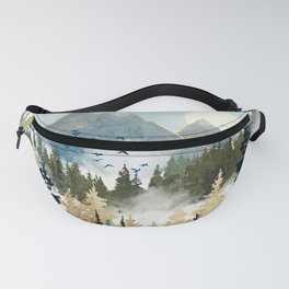 Misty Pines Fanny Pack