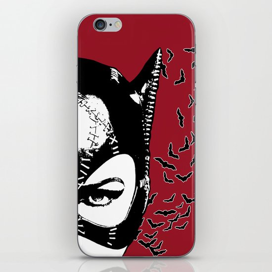 Red Catwoman iPhone & iPod Skin