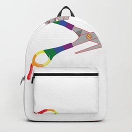 LGBT Lesbian Scissors Gaypride Rainbow Gift Backpack