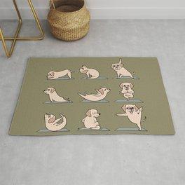 Labrador Retriever Yoga Rug