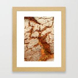 Corn bread Framed Art Print
