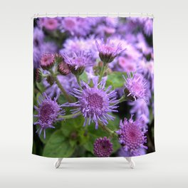 Flower BB Shower Curtain