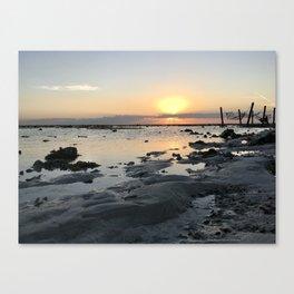 Sunset Hammock at Gili Trawangan Island | Travel photography Indonesia | Adventure in Asia Canvas Print