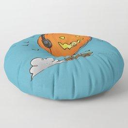 The Skater Pumpkin Floor Pillow