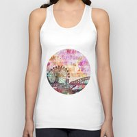 sydney Tank Tops featuring Sydney Luna Park  by LebensART