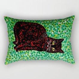 An Cat Dubh Rectangular Pillow