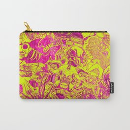 Pink Stickers Carry-All Pouch