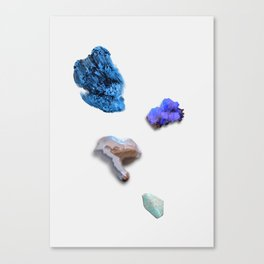 FLUORESCENT MINERALS Canvas Print