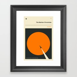 'Earth men have a talent for ruining big, beautiful things' Framed Art Print