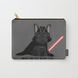 French Baconator Dark Side Carry-All Pouch