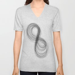 Infinity's Angel  Unisex V-Neck