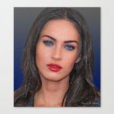 Beautiful face, very beautiful eyes Canvas Print