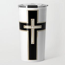 Christian cross Travel Mug