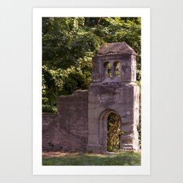 The old entrance Art Print