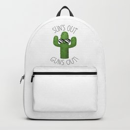 Sun's Out Guns Out! Backpack