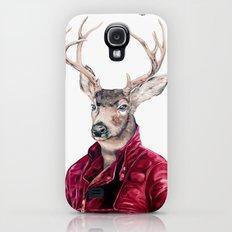 Deer In Leather Slim Case Galaxy S4