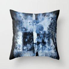 rain walker redux Throw Pillow