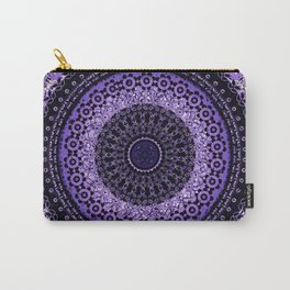Purple Tapestry Mandala Carry-All Pouch