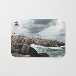 Peggy's Cove Light House -- Nova Scotia Bath Mat