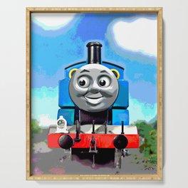 Thomas Has A Smile Serving Tray