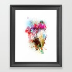 The bird in my dreams Framed Art Print