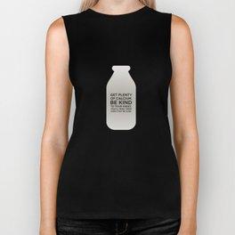 Sunscreen / Get plenty of calcium Biker Tank