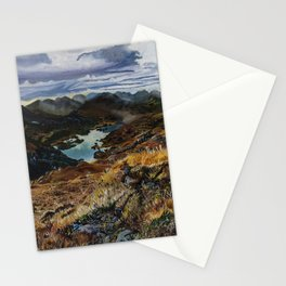 View from Torc Mountain, Killarney National Park, Ireland Stationery Cards