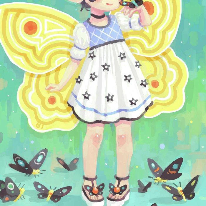 Butterfly Girl Leggings