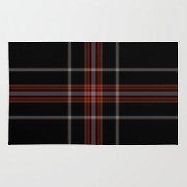 Tartan pattern Rug