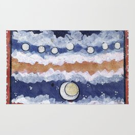 If the blue sky is a fantasy, Rug