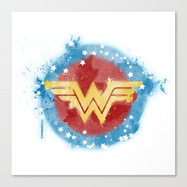WonderWoman Logo Canvas Print