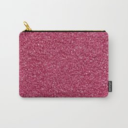 Pink grains of bright sugar Carry-All Pouch