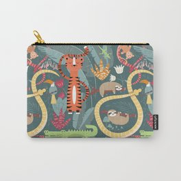 Rain forest animals 003 Carry-All Pouch