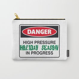 holiday season danger Carry-All Pouch