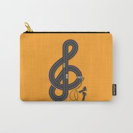 Sound Track Carry-All Pouch