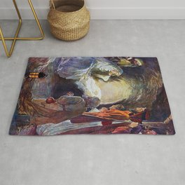 Birth of Jesus Rug