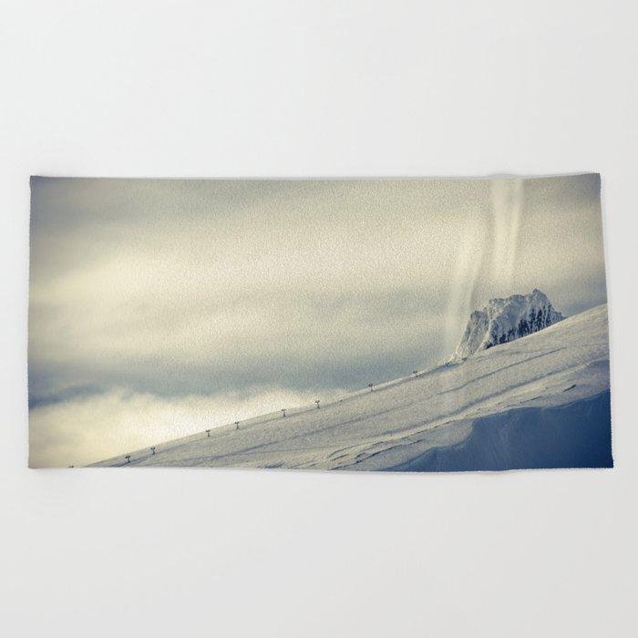 Above the Clouds - Mt. Hood Beach Towel