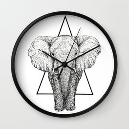 Wisdom Elephant Wall Clock