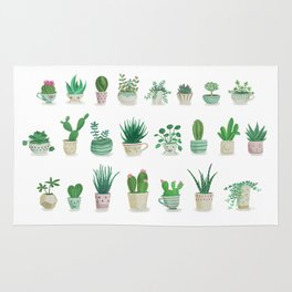 Tiny garden Rug