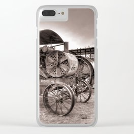 Goessel Steam Tractors Clear iPhone Case
