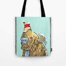 Winged Gorilla Tote Bag