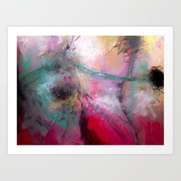 Amaranth Pink Art Print