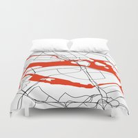 sweden Duvet Covers featuring Stockholm Sweden. by Studio Tesouro