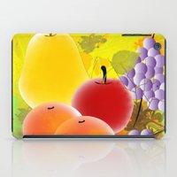 fruit iPad Cases featuring Fruit by Ramon J Butler-Martinez