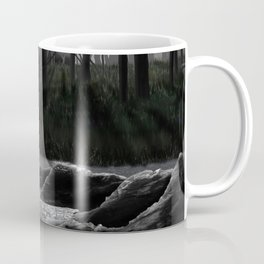 Huntress in the woods Coffee Mug