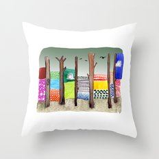 Imaginary Adventure Throw Pillow
